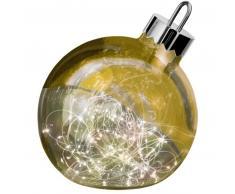 Sompex ORNAMENT Weihnachtskugel-Leuchte - gold - Ø 30 cm