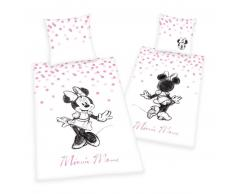 Disney's Minnie Mouse Bettwäsche-Set - rosa - 135x200 / 80x80 cm