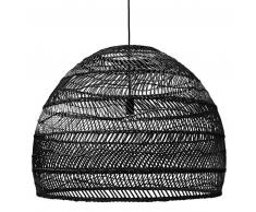 HK LIVING wicker hanging lamp ball Hängelampe