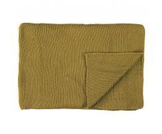Marc O'Polo Nordic knit Strickdecke aus Bio-Baumwolle