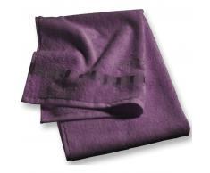 Esprit Solid Towel Waschhandschuh - Aubergine - 16x21 cm
