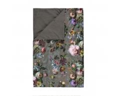 Essenza Fleur Tagesdecke - Taupe - 270x265 cm