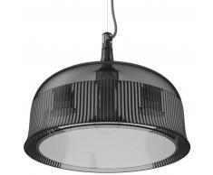 qeeboo Goblets Ceiling Lamp Wide Hängeleuchte - smoke - 35 x 35 x 27,7 cm