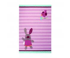 Sigikid 3 Happy Friends Stripes Kinder-Teppich