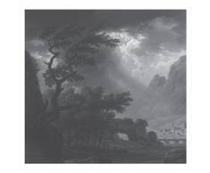 KEK Amsterdam Golden Age Landscapes Fototapete - grau - 292,2 x 280 cm (= 6 Bahnen)