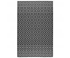 Eagle Products CASABLANCA Decke aus Kaschmir & Schurwolle - schwarz-mausgrau - 140x215 cm