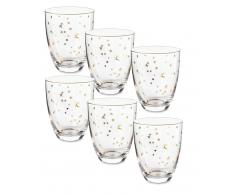 Pip Studio Royal Christmas Wasserglas-6er-Set