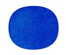 HEY-SIGN EAMES PLASTIC SIDECHAIR Sitzauflage - blau - 35x31 cm