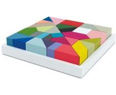 Remember THIRTY Holzpuzzle - multifarben - 20 x 20 x 4 cm