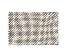 PAD POOL DUO COLOR Fußmatten-Läufer XXL in/outdoor - sand-white - 72x132 cm