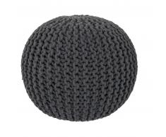 Obsession My Cool Pouf Hocker - anthracite - 43x40 cm