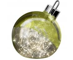 Sompex ORNAMENT Weihnachtskugel-Leuchte - grün - Ø 30 cm