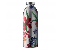 24 Bottles Clima Bottle Floral Isolier-Trinkflasche