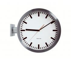 Karlsson Double Sided Station Wanduhr
