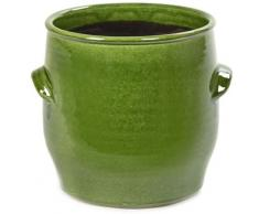 Serax Handles Blumentopf - grün - Ø 18 cm - Höhe 18 cm