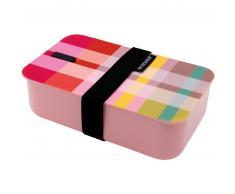 Remember Silk Lunchbox - multicolour - 19x12x6,4 cm