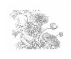 KEK Amsterdam Engraved Flowers IV Fototapete