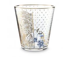 Pip Studio Royal Golden Flower Wasserglas 6er-Set