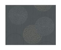 A.S. Création Spot 3 Vliestapete - grau-schwarz - Breite 0,53 m - Rollenlänge 10,05 m