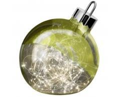 Sompex ORNAMENT Weihnachtskugel-Leuchte - grün - Ø 25 cm