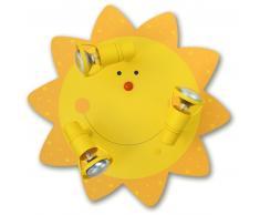 waldi Leuchten Sonne Deckenleuchte - A++