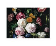 KEK Amsterdam Golden Age Flowers III Fototapete - rosa - 389,6 x 280 cm (= 8 Bahnen)
