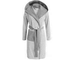 Esprit Striped Hoodie Bademantel