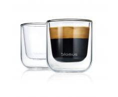 blomus NERO Thermo-Espressoglas 2er-Set - Glas - 2 x 80 ml