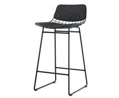 HK living Sitzkissen gefüllt für Wire Chair Barhocker