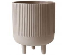 Kristina Dam Studio Bowl Blumentopf - grey - Ø 18 cm - Höhe 22 cm