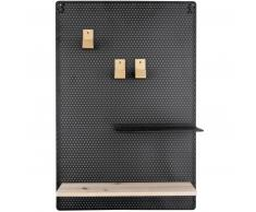 Present Time Perky Memo Board Mesh - black - 52,5x34,5x10,5 cm