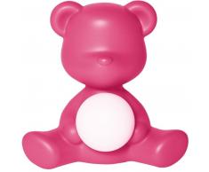 qeeboo Teddy Girl Rechargeable Lamp Tischleuchte - fuxia - 35 x 24 x 32 cm