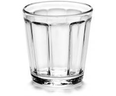 SERAX SURFACE Espressoglas 4er-Set - clear - 4 Gläser à 100 ml