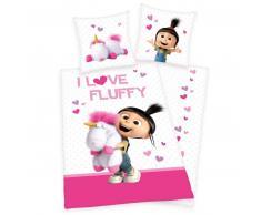 Minions Agnes & Fluffy Kinderbettwäsche