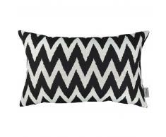 Tom Tailor ARROW Kissenhülle - schwarz/weiß - 30x50 cm