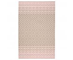 Eagle Products CASABLANCA Decke aus Kaschmir & Schurwolle - natural-rosa - 140x215 cm