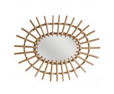 HK living Willow Mirror oval Spiegel