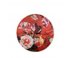 ESSENZA Scarlett Teppich rund - roseval - Ø 90 cm