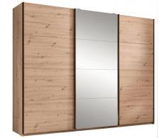 Z2 Schwebetürenschrank 3-türig ORLANDO,Holznachbildung,eiche