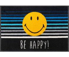 Kleen-Tex Fußmatte Smiley Be Happy,Polyamid,multicolour