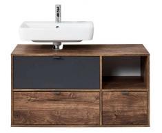 Pelipal Waschtischunterschrank II LINZ,Holznachbildung,eiche