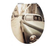 Zurbrüggen WC-Sitz Hochglanz Old-Time Car,Acryl,multicolour
