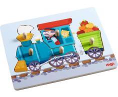 Haba Greifpuzzle Eisenbahn,Holz,multicolour