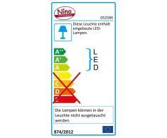 Nino Leuchten LED Badleuchte SPARKY,Metall,chrom