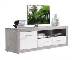 TV-Lowboard JAN,Holznachbildung,beton