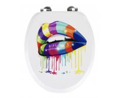 Zurbrüggen WC-Sitz Lip,MDF,multicolour