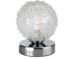 Nino Leuchten LED-Tischleuchte 1-flg. Ryder,Metall,silber