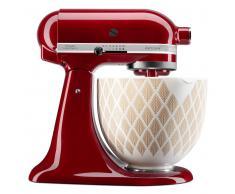 Kitchen Aid Küchenmaschine Artisan 4,8l ARTISAN,Zink,rot