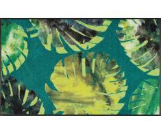 Kleen-Tex Fußmatte Philo Leaves,Polyamid,grün