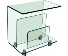 BOXXX Zeitungsständer TRIO,Glas,klar